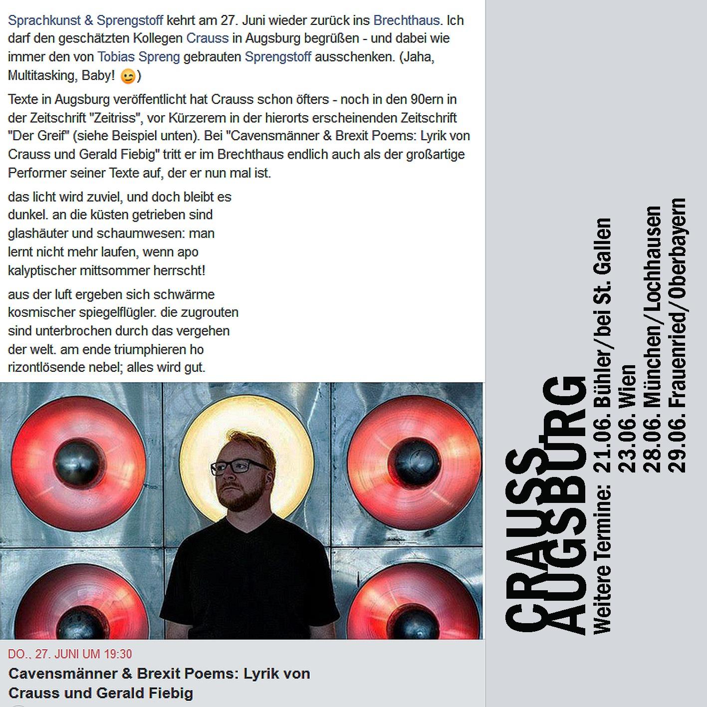Crauss, Fiebig, Augsburg