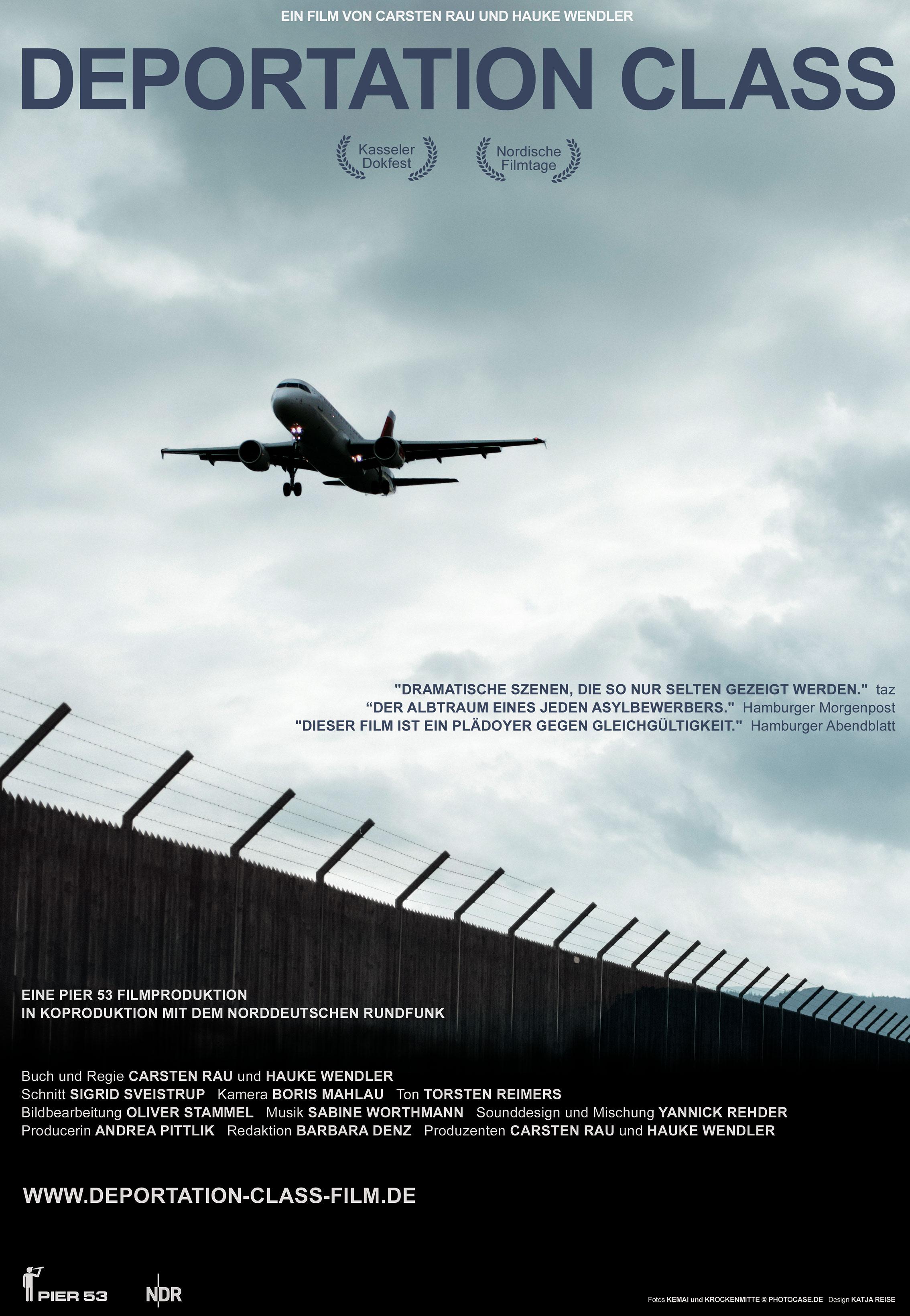 deportation class plakat